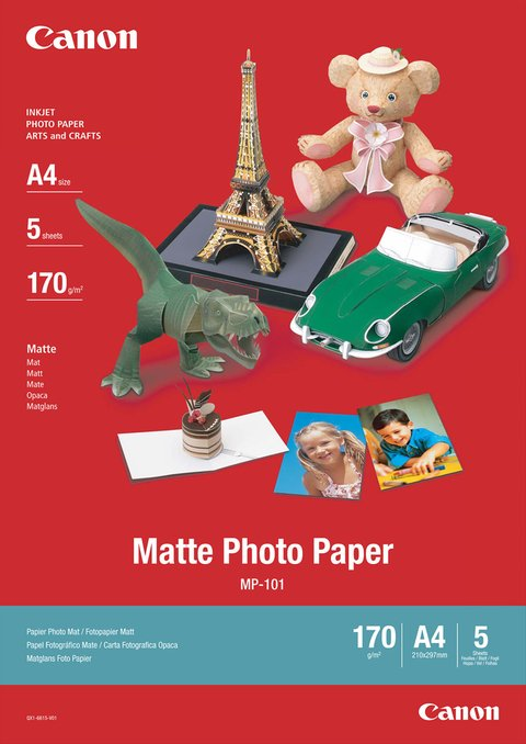 CANON MP-101 matte photo paper 170g/m2 A4 50 ark.