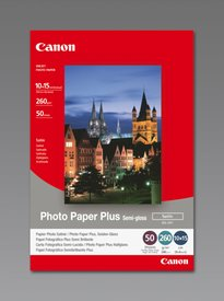 CANON SG-201 Semi Glossy Photo Paper Inkjet 260 g 10x15 50 ark.
