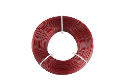 Fiberlogy Refill Easy PETG Burgundy Transparent