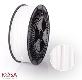 Rosa3D PET-G Standard 1,75mm White 3kg