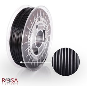 Rosa3D PET-G Standard 1,75mm Black 0,8kg